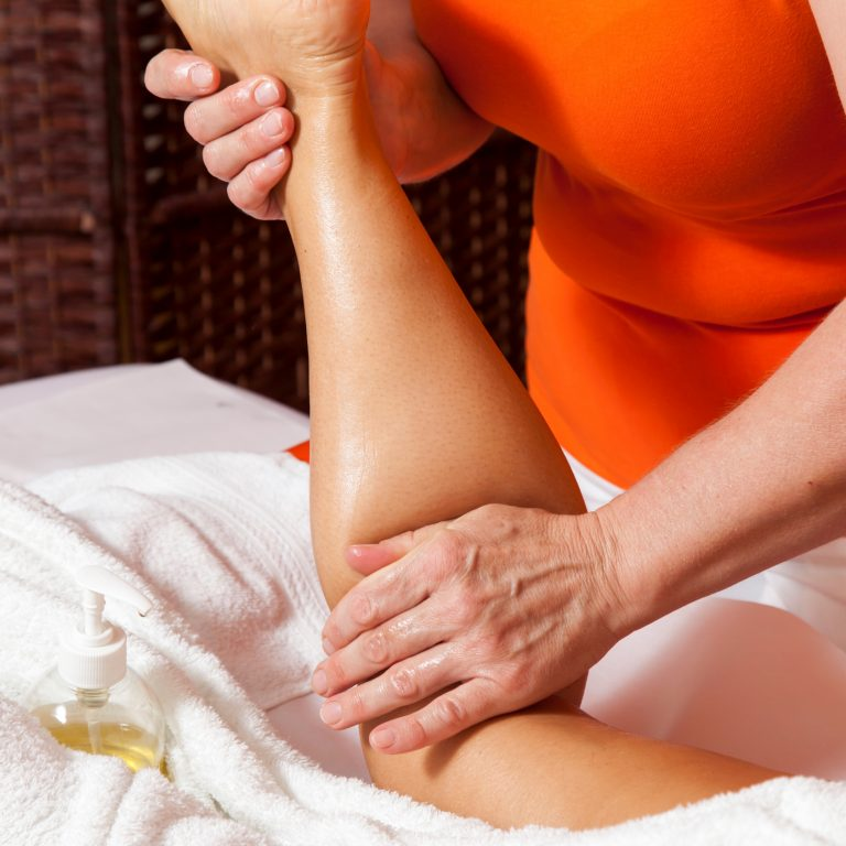 LYMPHATIC DRAINAGE COMBINATION MASSAGE AND STRETCHING