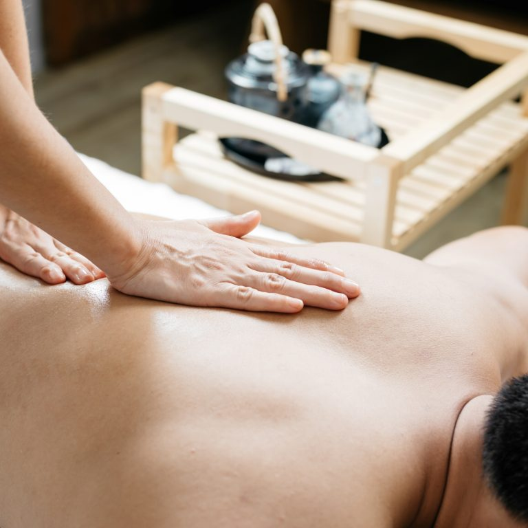 Thai massage sessions involve the use of yoga-like stretching, compression work, and trigger point manipulation to loosen tight muscles and improve overall flexibility.